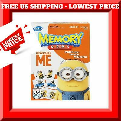 HASBRO Memory Game Despicable Me Edition FREE US SHIPPING 48 minion cards