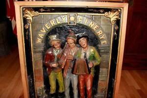 Waverly-Rye-Whiskey-pre-pro-1910-chalk-pre-porcelain-neon-sign-New-York-City