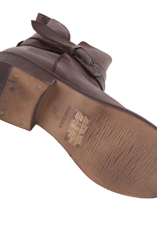 Diesel Femmes Boots Bottines Marron Véritable Cuir | | | Dernière Arrivée  | Durable  9b3131