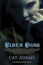 Siren Song - A Blood Singer Novel by Cat Adams SC new