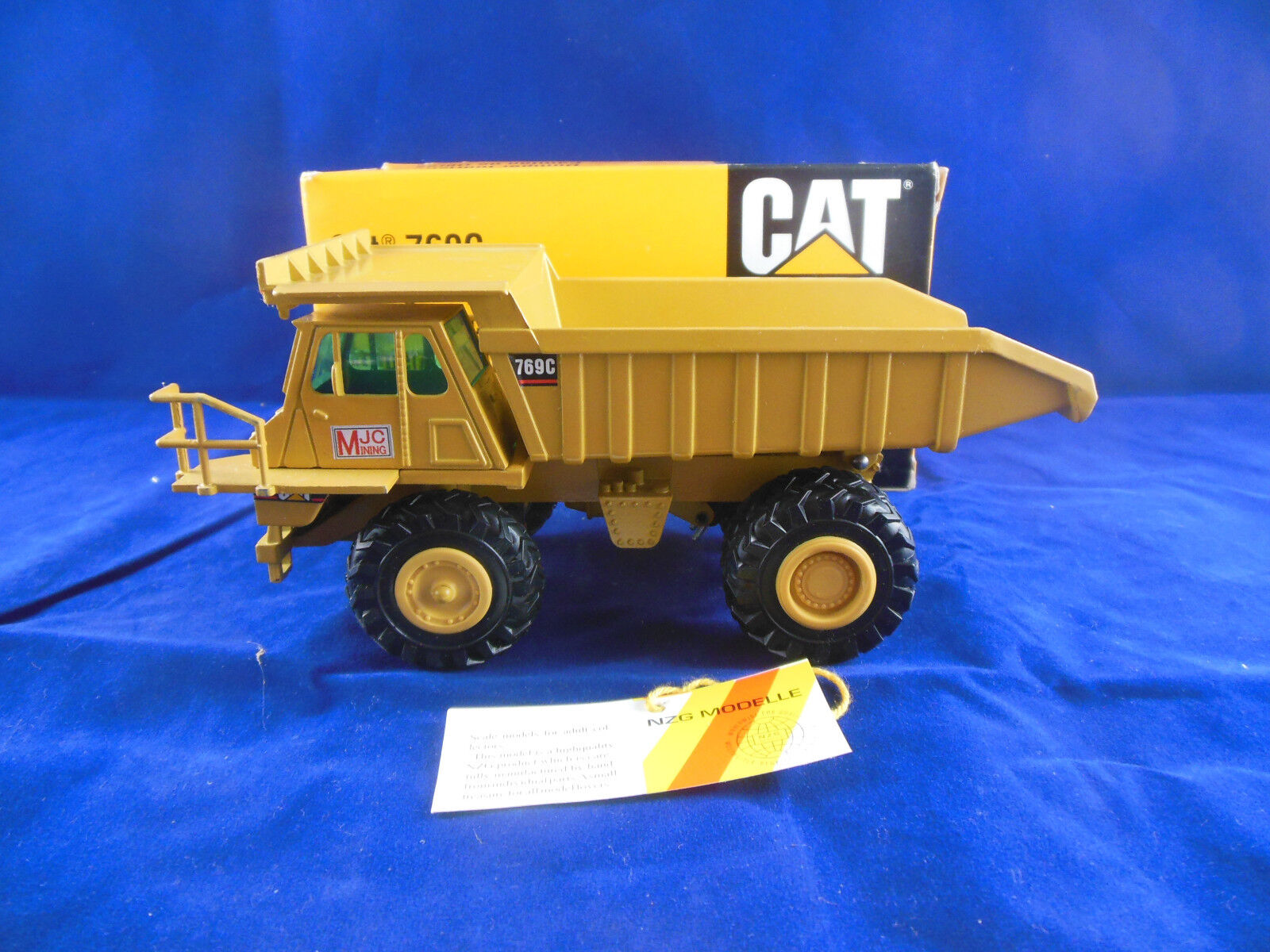 NZG Art. 222 Caterpillar Cat 769 C hors-route camion échelle 1 50 Made in Germany