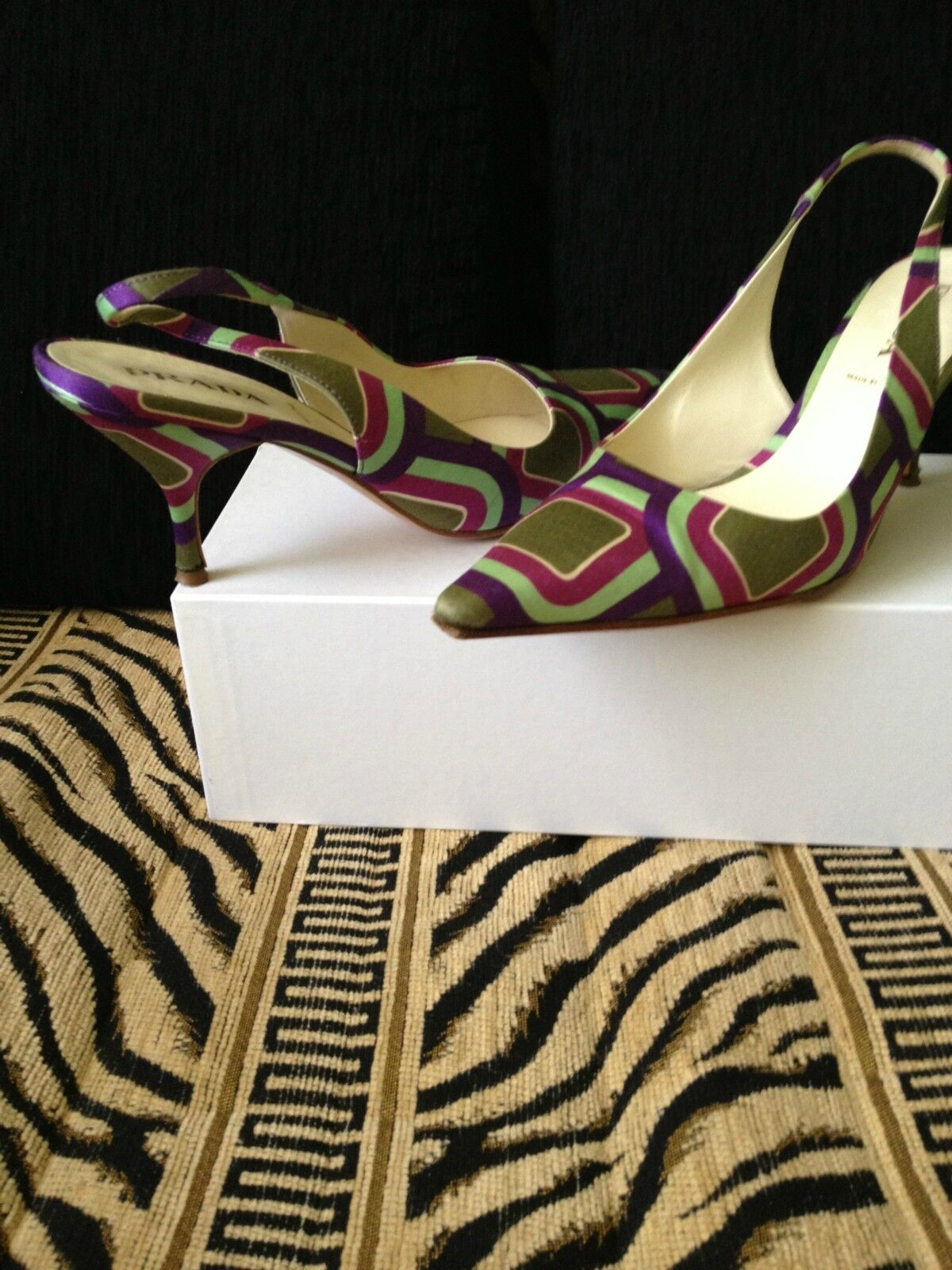 Man/Woman Prada Multicolor Heels, Size 36.5/6.5 wide the most convenient a wide 36.5/6.5 range of products Recommended today 0ef803