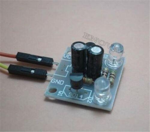 2 Stücke Kit 5Mm Led Einfache Blitzlicht Einfache Blitzschaltung bc