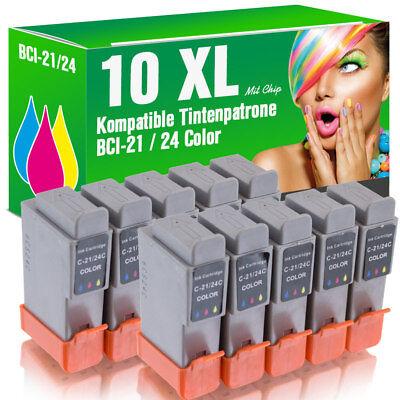 10 Druckerpatronen 24c Für Canon Mp 390