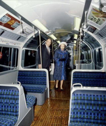 "London Underground Victoria Line ""Blue Straub"" By Misha Black Moquette Cushion"