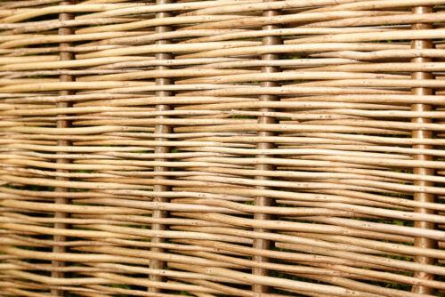 Robinienzaun STABIL Sichtschutz Robinienzäune Gartenzaun Flechtzaun Zaun Robinie