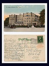 TEXAS PARIS ST JOSEPH'S INFIRMARY POSTED 30 JANUARY 1915 TO OKLAHOMA CITY