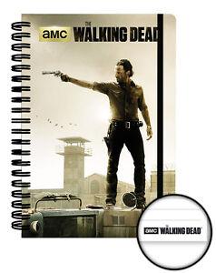cuaderno-espiral-The-walking-dead-cuaderno-Rick-Grimes-The-walking-dead-notebook