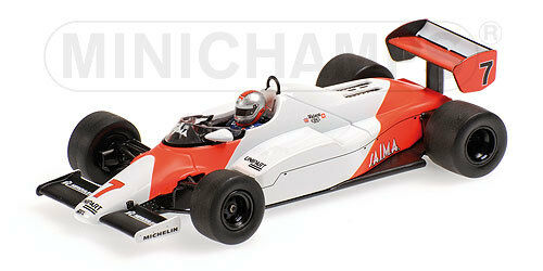 Minichamps 1  43 530 834307 mc laren ford mp4 1c f.1  7 1er usa west gp 1983  en ligne pas cher