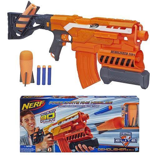 Nueva Marca Nerf N-strike Elite demoledor 2 en 1 Pistola De Dardos Aust Versión Rara