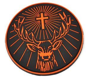 Jagermeister-USA-Gummi-Bierdeckel-Untersetzer-Coaster-Hirsch-Rudi-Logo
