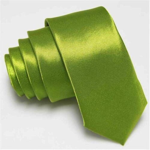 Standard Neckties tie Solid 5cm ties regular Mens Plain Wedding wide Formal size