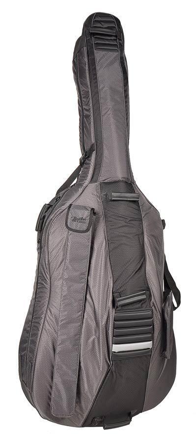 Boston Deluxe Hightech Leiste Kontrabass Tasche 3 4 Ripstop-Nylon