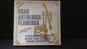 GRAN ANTOLOGIA FLAMENCA ' BOX 10 LP MINT RCA CL-35220 - España - GRAN ANTOLOGIA FLAMENCA ' BOX 10 LP MINT RCA CL-35220 - España