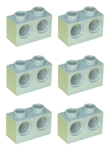 Missing Lego Brick 32000 DkStone  x 6Technic Brick 1 x 2 with Holes