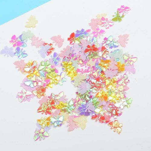 200PCS 15*17mm AB Love liness Embossed Shinny Butterfly Appliques//Crafts DIY
