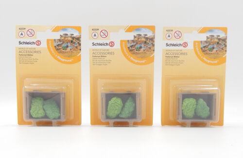 NEU//OVP Leaves feed set Schleich Accessories Zubehör 42239 Futterset Blätter