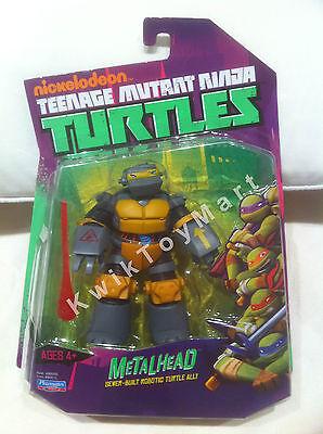 Teenage Mutant Ninja Turtles TMNT Metalhead Figure Nickelodeon RARE