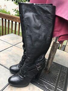 Haut Robe Booths noir haut 6 Prairy Femmes usa Stiletto Taille 5 Y5wUEn
