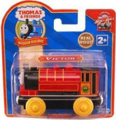 THOMAS THE TANK /& FRIENDS-WOODEN VICTOR ENGINE 2009 RED LABEL**NEW**USA SELLER**