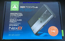 JL Audio XD700/5V2 5 Channel Complete System Car Audio Amplifier 4 Ch +Sub Amp