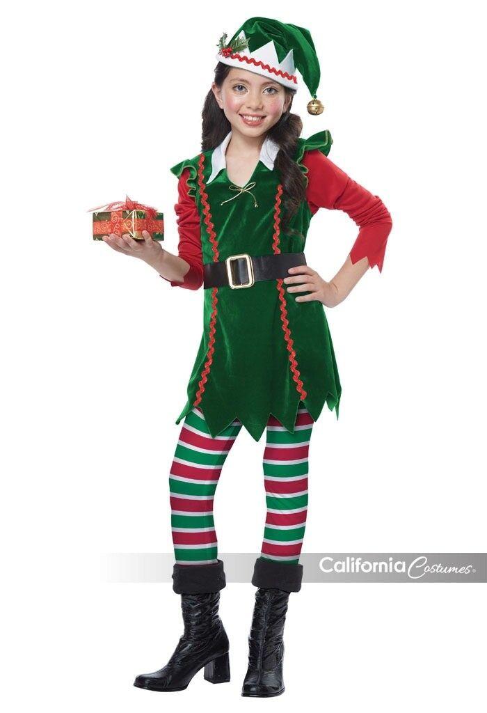 California Kostüme Festlich Elfen Kinder Mädchen Holiday Weihnachten Kostüm | Online Outlet Store  | Offizielle  | Verkauf Online-Shop