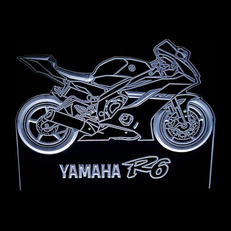YAMAHA R6 - ACRYLIC LED SIGN