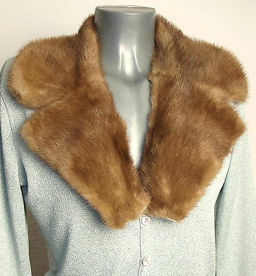 Visone Colletto Revers Pelliccia Sciarpa Vintage Collo Di Cucito Fai Da Te Design Accattivanti;