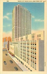 Postcard-Radio-City-Music-Hall-New-York-NY