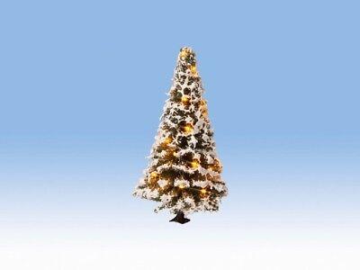 100% Vero Noch 22120 Scala H0 Tt 0 N Illuminato Albero Natale,nevoso # Nuovo Scatola