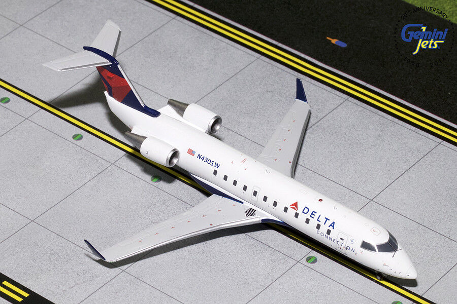 Delta Connection CRJ200 N430SW Gemini Jets G2DAL793 Scale 1 200