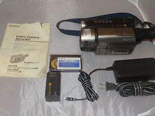 SONY Camcorder CCDTRV43 HI8 8mm VIDEO 8  0 Lux Nightshot VIDEO TRANSFER