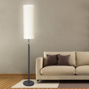 led stehleuchte 2000 lumen stehlampe mit stoffschirm licht deckenfluter dimmbar. Black Bedroom Furniture Sets. Home Design Ideas