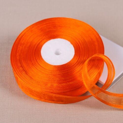 "50 yards//Lot 3//4/"" ORGANZA rubans gros Cadeau Emballage Décoration 20 mm"