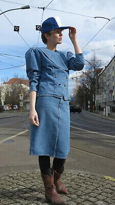 Dolce Jewel Jeans Da Donna Giacca Giacca Blu 80er True Vintage 80s Women's Denim Jacket-mostra Il Titolo Originale I Colori Stanno Colpendo