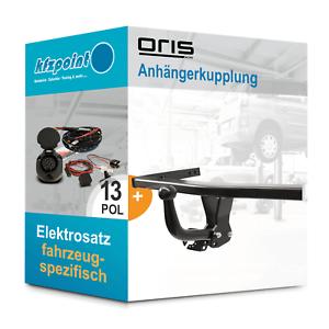 Fuer-VW-Passat-Variant-14-ORIS-Anhaengerkupplung-starr-13polig-E-Satz-AHK