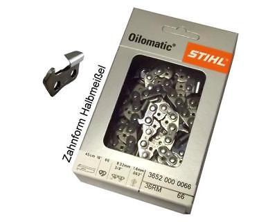 Halbmeißel Säge Kette 66TG 45cm 3//8 1,6mm passend für Stihl 030 031 032 AV Chain