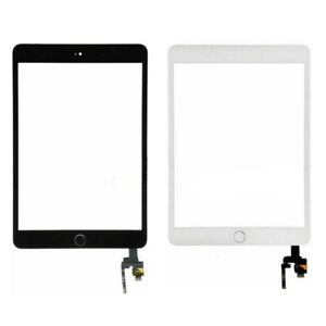 Touch Screen Digitizer With Home Button For iPad Mini 3 A1599 A1600 Replacement