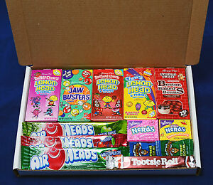 Image Is Loading American Candy Gift Box Retro Sweets Birthday Present