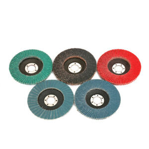 125mm-5-Inch-Sanding-Flap-Disc-Grinding-Wheel-for-Rust-Removal-80-Grit-7-8-034-Bore