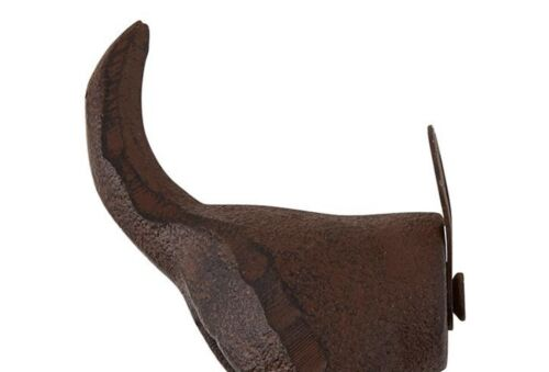 Details about  /Tail Shaped Cast Iron Wall Hanger 3.54 In Home Decor for Living Room 2 Pack