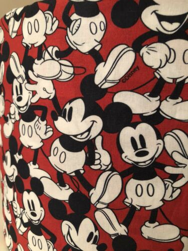 20cm//30cm Mickey Mouse Ceiling Shade Allover Print In Red//Black