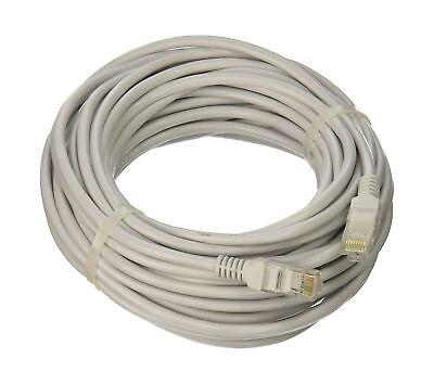 Ethernet Network 50 Feet CAT5 White CAT5e RJ45 Cable