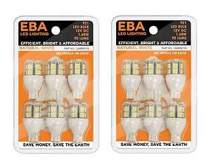 (2) 6 pks Replacement Light Bulb 921/T15 Wedge base Nat Wht 12V092113-02