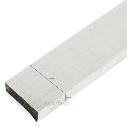 3mm x 10mm x 200mm HSS Tapered Lathe Parting Off Tool Turning Blade Square Bar