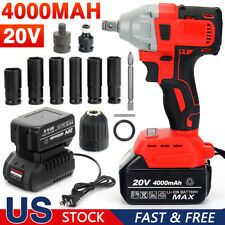 New Listing12 Electric Impact Wrench Cordless 520nm Brushless Gun With Battery Driver Tool