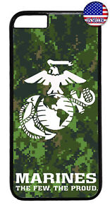 Camouflage-US-Marines-USMC-Military-Case-Cover-iPhone-Xs-Max-XR-X-8-7-6-Plus-5-4