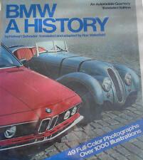 BMW A HISTORY -  RON WAKEFIELD HALWART SCHRADER CAR BOOK