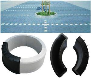 concrete round edging plant flower pot paving garden slab floor tile mould 9 ebay. Black Bedroom Furniture Sets. Home Design Ideas
