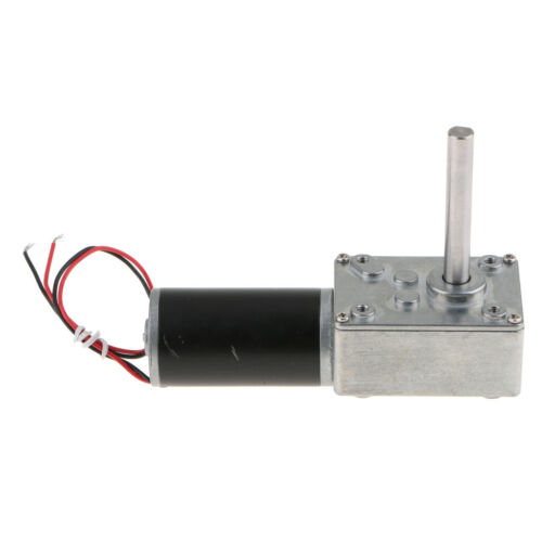 DC DC12V Gear Reduction Motor Worm Reversible High Torque Turbo Geared Motor